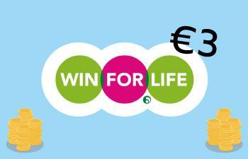 Win For Life de 3 euro